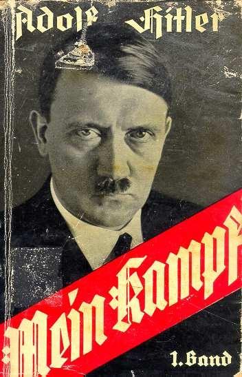 """Mein Kampf"" by Adolf Hitler"