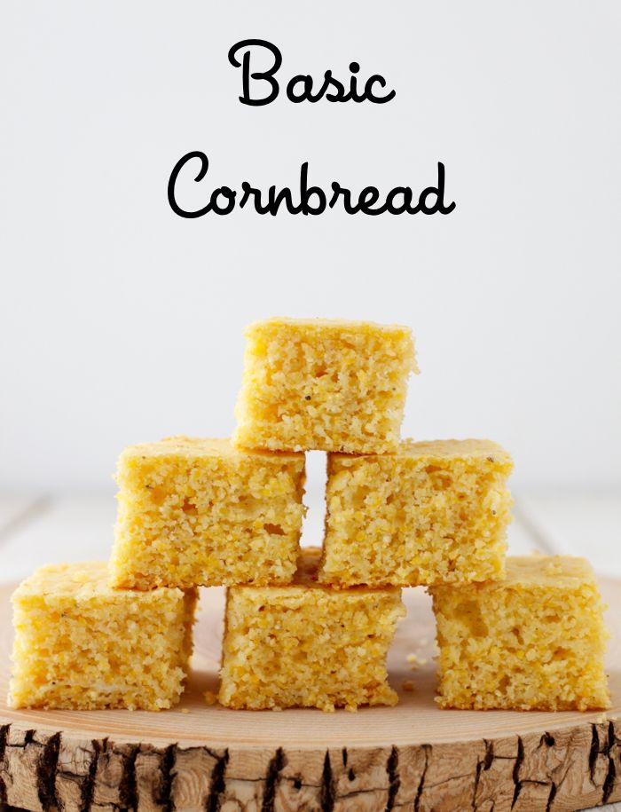 Basic cornbread is a classic fall favorite that can used in so many ways!