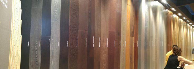Mille sfumature di legno, da Original Parquet. Un trionfo di natura.  Pad. 22.  #MCaroundCersaie #Cersaie