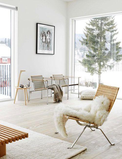 Scandinavian interior  #livingroom #rattanchair #salón #sillónrattan #scandinavian #interiorism #interiorismo