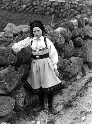 Galleri NOR; Setesdal, pike 1931