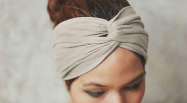 turban torsion bandeau