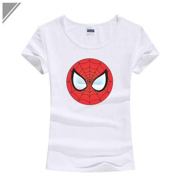 "Spider-Man ""Logo Print"" T-Shirt"