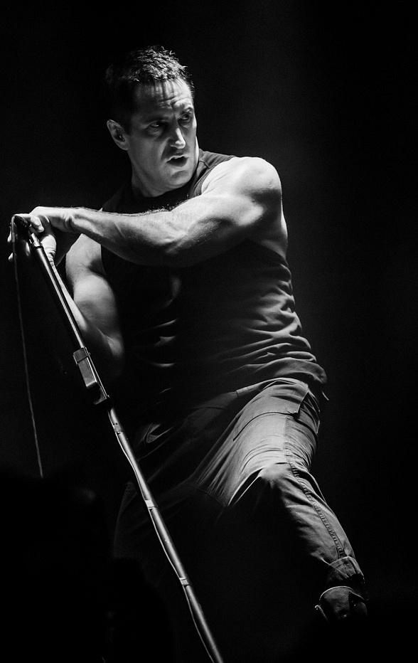 "Nine Inch Nails performed two Sold Out shows at The Joint at Hard Rock Hotel & Casino on November 15 and 16, 2013 as part of the ""Nine Inch Nails: Tension 2013"" tour (Photo: © Erik Kabik/ www.erikkabik.com / Hard Rock Hotel)."