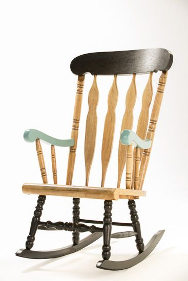 The Team at Made on the Left FINAL Re-Love Project - Rocking Chair @madeontheleft   #feastwatson #relove eBay Auction Starts 24th July 2014 @ 4pm! Visit feastwatson.com.au for details