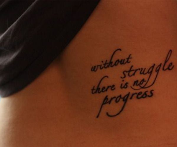 Think before you ink: the alarming rise of the divorce tattoo isn't progress either.