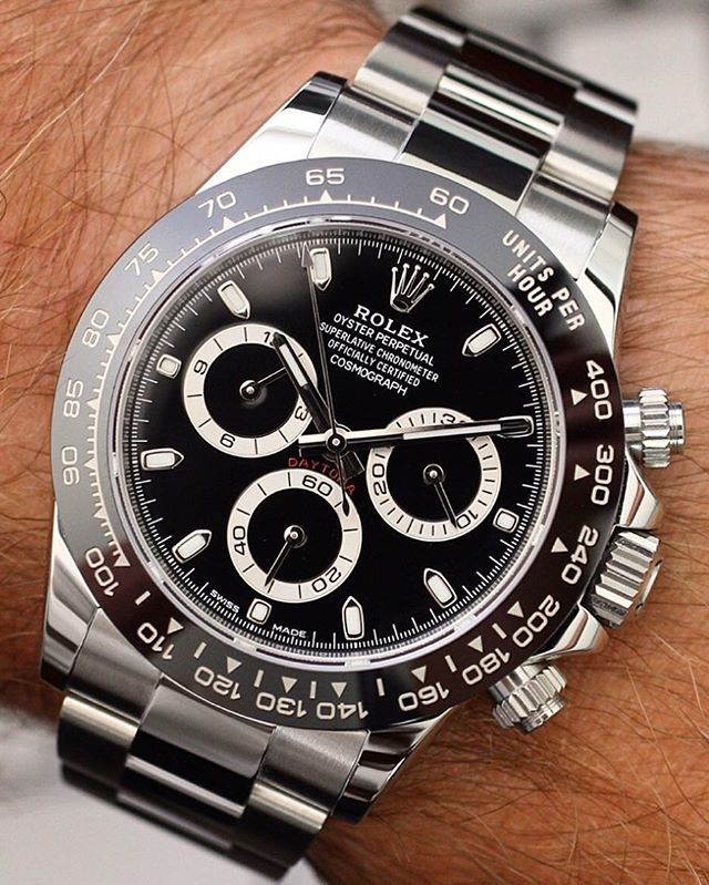Describe it in one Word.... ▪️▪️ 116500 New Ceramic Rolex Daytona ▪️▪️ Amazing…