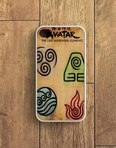 Avatar The Last Air Bender Elements iPhone 4 | 4S Case