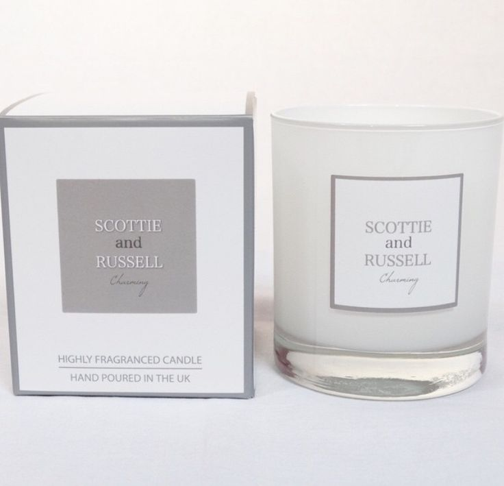 Scottie and Russell candle.. Five beautiful scents. Perfect gift for Valentines Day.. X