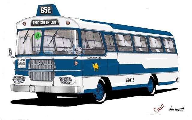 Will.Bus: Caio Jaraguá / Mercedes-Benz LPO 344 - (SP) Viação Campo Belo Ltda. (Década de 70)
