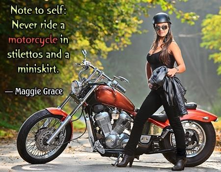 Famous Motorcycle Quotes