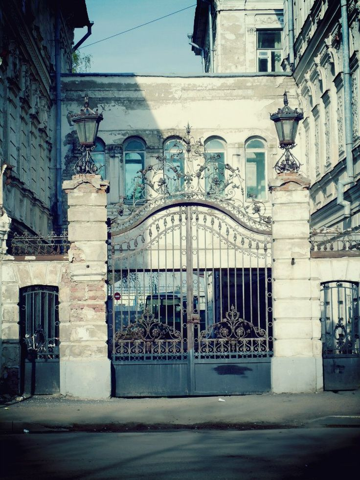 Kostroma Regional MUSIC COLLEGE, the old gate
