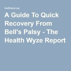 Best 25 Bell S Palsy Ideas On Pinterest Bell S Palsy