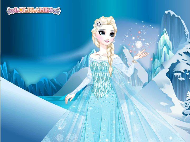Magical Frozen Snow Queen Elsa Snowden's Makeover.png