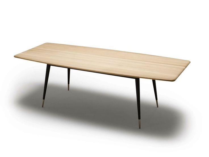 Extending solid wood table GM 9924 by Naver Collection | design Nissen and Gehl