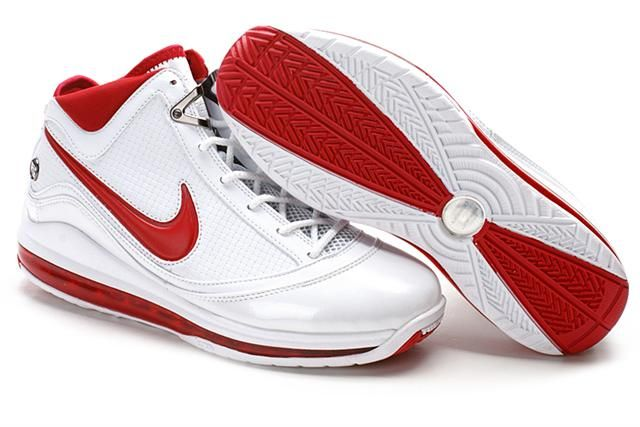 http://www.airfoamposite.com/nike-lebron-7-white-red-silver-p-323.html NIKE LEBRON 7 WHITE RED SILVER Only $84.68 , Free Shipping!