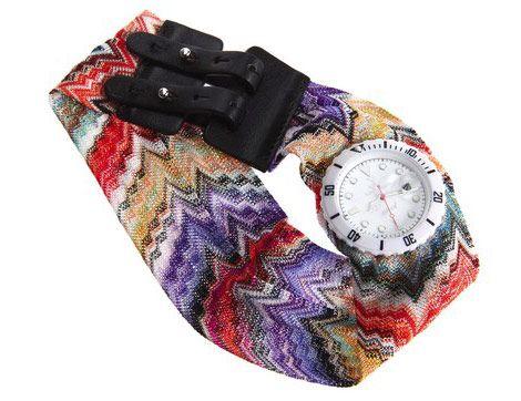 Os relógios Missoni e ToyWatch chegaram pra arrasar, lindos, modernos e 'muito chiques', eles lembram bastante o glamour dos anos 80. Trata-se de uma parceria