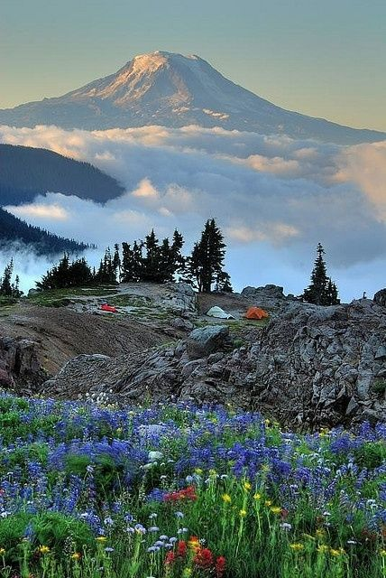 30 Photos of Fascinating Places Around the World - Mount Adams, State of Washington, USA