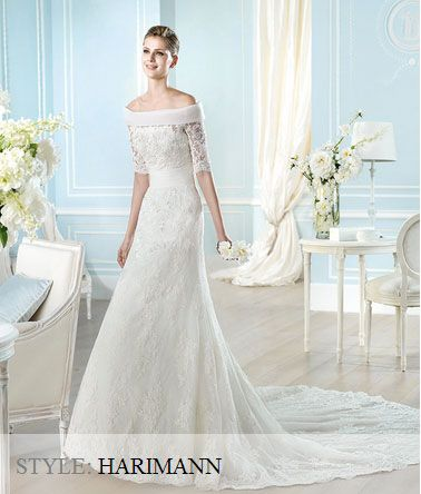 San Patrick Wedding Gown - 2014 Costura Collection - Harimann