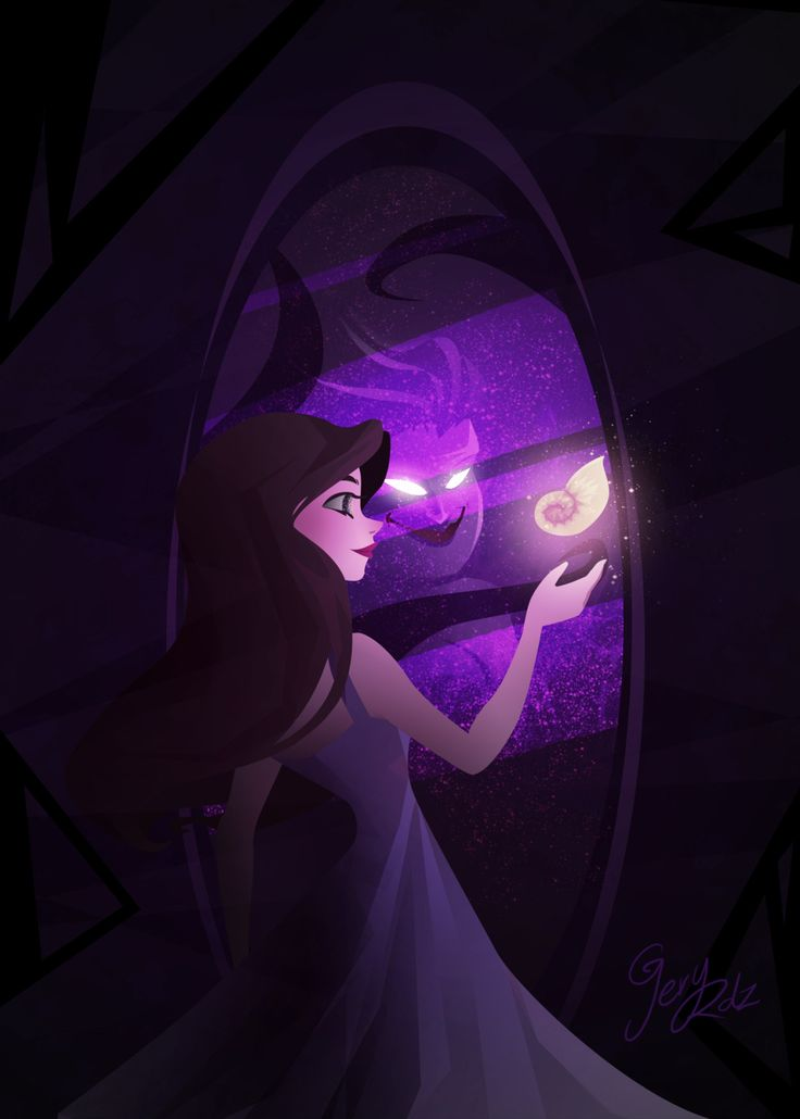 geryri: Ursula /Vanessa (The little mermaid) for sketch dailies