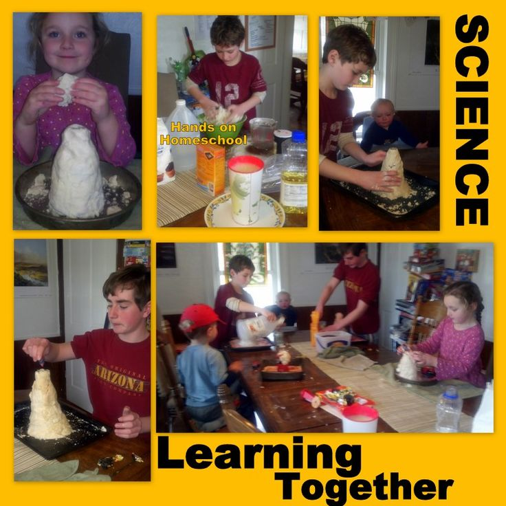 Volcano Science Project & Unit Study Resources {& Big Family Friday}
