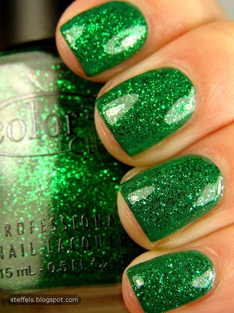 glitter green. Must Own!