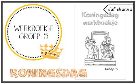 Koningsdag: werkboekje voor groep 5
