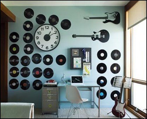 The 25 best music theme bedrooms ideas on pinterest for Room decorating ideas music