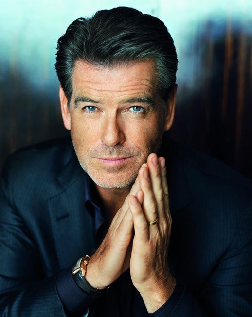 Pierce Brosnan -- Steele-y looking hottie.