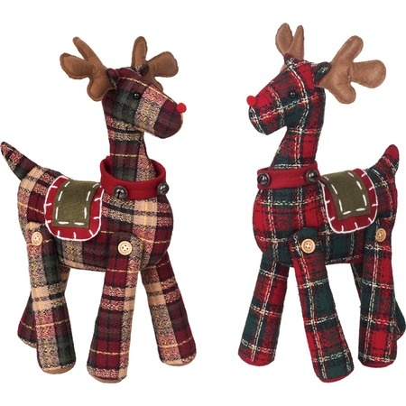 Plaid Moose Décor Set I need a pattern for jointed deer for Mr Q