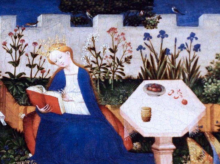 https://flic.kr/p/h1Pg5U | IMG_5766  Master of the High Rhine. assets to 1410-1420. The small garden Paradis. | Maitre du Haut Rhin. actif vers 1410-1420. Le petit jardin du Paradis. Francfort Städelmuseum.   Master of the High Rhine. assets to 1410-1420. The small garden Paradis. Frankfurt Städelmuseum.