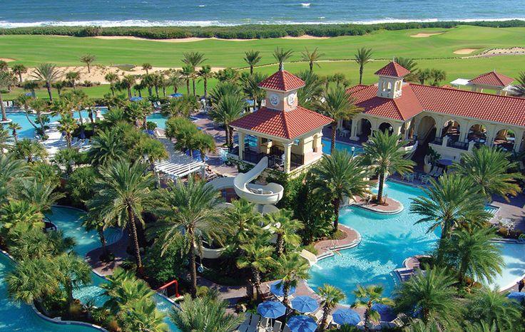 The Pool Pavillion | Palm Coast Beach Hotels | Hammock Beach Resort | Florida Luxury Resorts