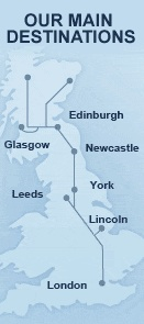 Buy Cheap Train Tickets - Find UK Train Times & Fares > East Coast