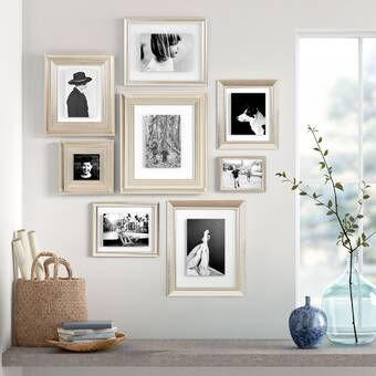 Gimenez 10 Piece Luxury Typography Picture Frame Set In 2020