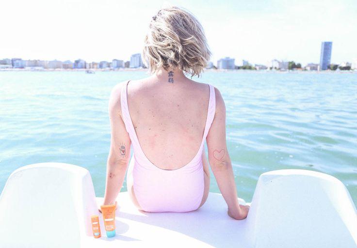 swimsuit collistar Jesolo Italy sea Italy