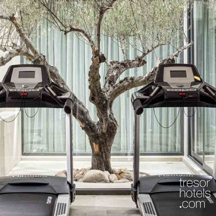 Trésor Hotels and Resorts_Luxury Boutique Hotels_#Greece_ Aqua Blu Guests can recharge their batteries at our fully-equipped# gym and Tamaris #Wellness Centre.