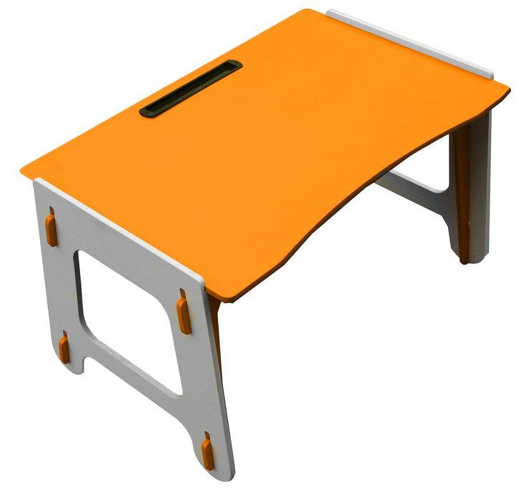 Стол детский Фигурный оранжевый №0