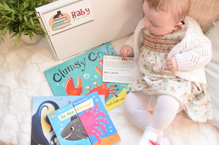 Baby book gift subscription boxes for newborns and toddlers - an ideal unique gift for babies and new parents