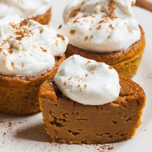 These Sweet Potato Pie Cupcakes are irresistible.