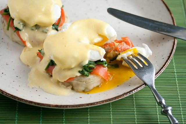 ... about Brunch on Pinterest | Bacon, Smoked salmon and Egg benedict