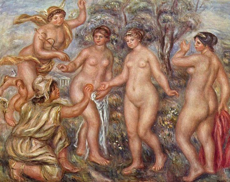 Pierre-Auguste Renoir 150 - Judgement of Paris