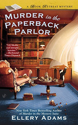 Murder in the Paperback Parlor (A Book Retreat Mystery) by Ellery Adams http://www.amazon.com/dp/0425265609/ref=cm_sw_r_pi_dp_zOwivb08YGCDC: