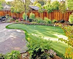 Image result for golf landscaping ideas