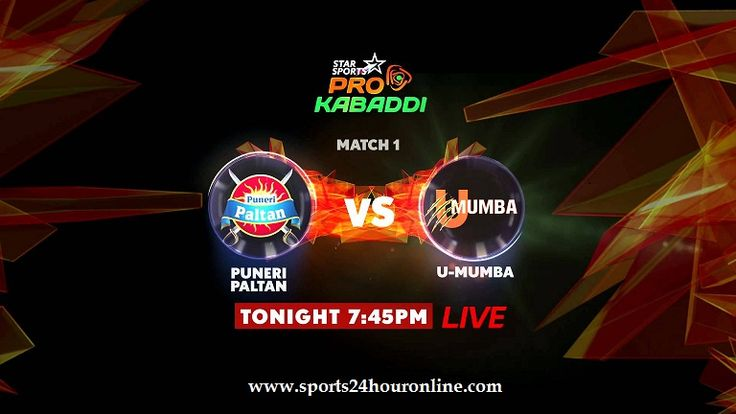 U Mumba vs Puneri Paltan Live Streaming PKL Season 5 Opener Match. Today pro kabaddi league live telecast tv channels info, preview, prediction, score, news