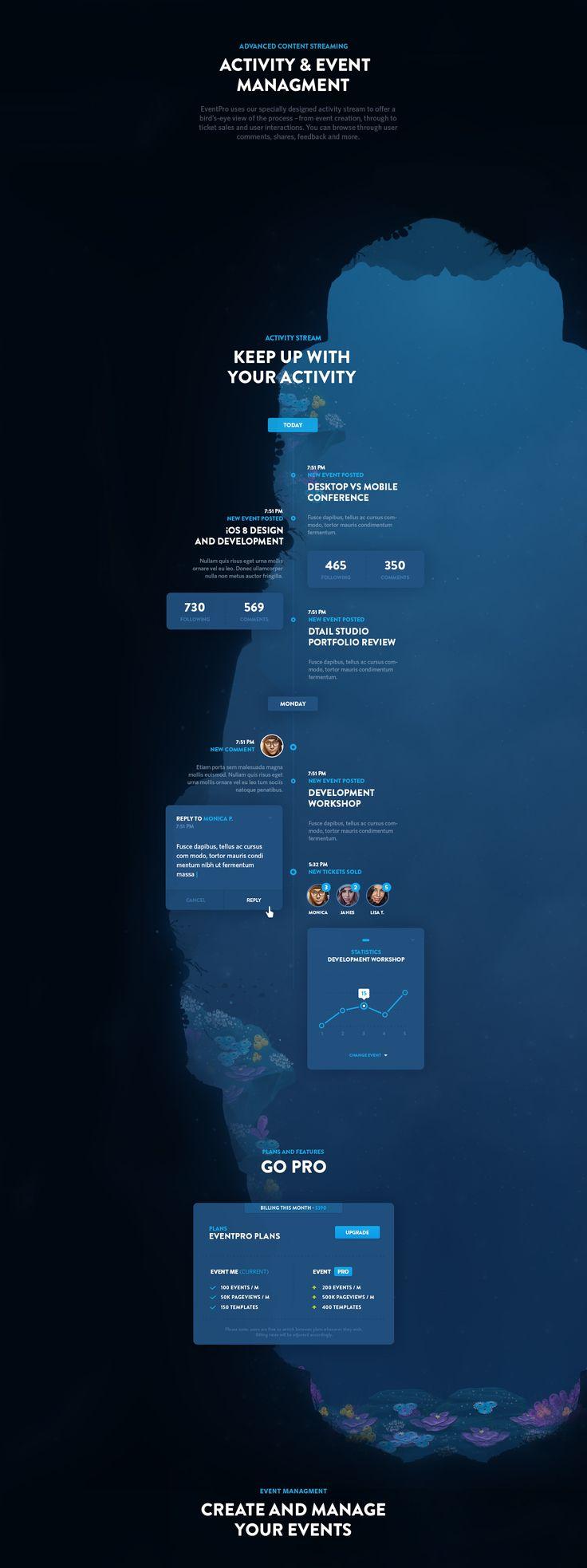 EventPro UI Kit - Free Download on Behance