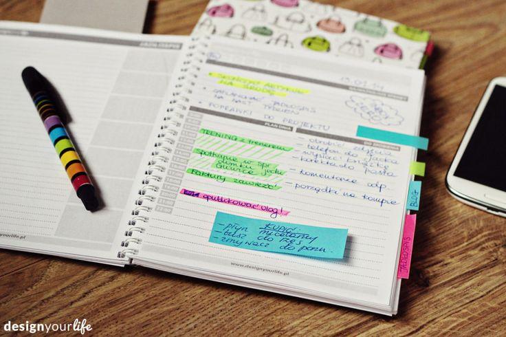 DIY planner - printable! // Organizer do wydrukowania - Designyourlife.pl