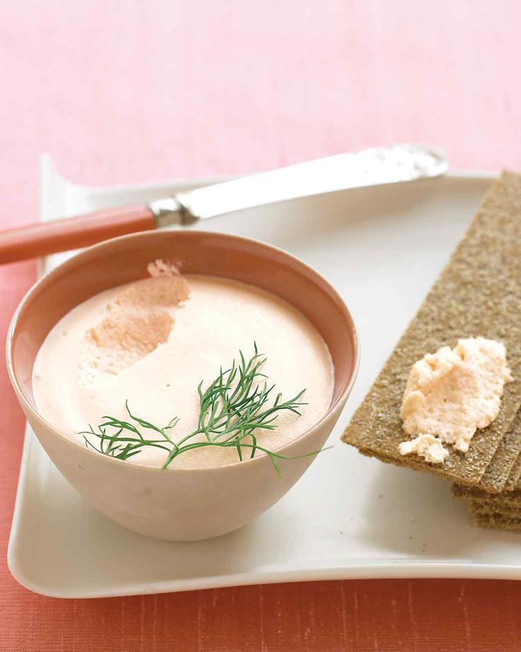 Salmon Mousse Recipe. A modest portion of smoked salmon yields a luxurious spread when blended with sour cream and a touch of lemon juice.