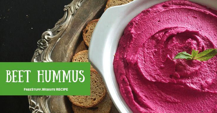 Beets Hummus Recipe