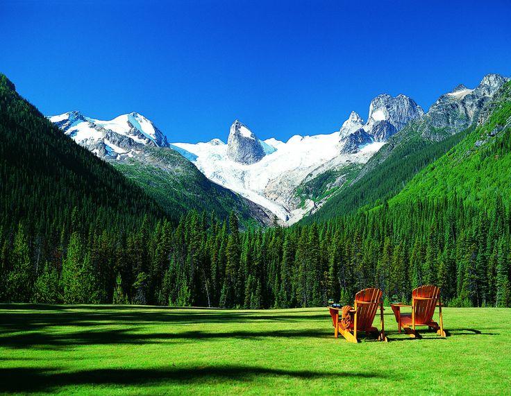 Heli-Hiking in western Canada