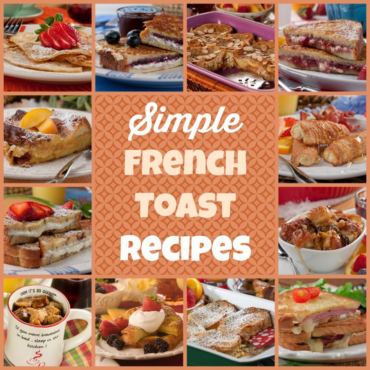 Top 16 Simple French Toast Recipes | MrFood.com